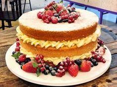 PAP - como fazer um Naked Cake ou Bolo Rústico / Bolo Pelado   Creative