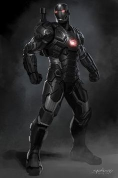 War Machine MK 3 Concept design render for Civil War Marvel Dc, Marvel Comics Art, Marvel Heroes, Marvel Civil War, Iron Man Avengers, Avengers Age, Iron Man Hulkbuster, Iron Man Kunst, War Machine Iron Man