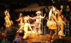 The Mai-Kai's famous Polynesian Islander Revue was established in 1961. Owner Mireille Thornton was a dancer in the original show. (Atomic Grog photo).