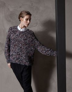"Mohair, cashmere and wool ""Multicolour"" sweater"