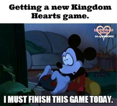 My exact reaction when KH 1.5 was released... X3