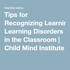 Tips For Recognizing Learning Disorders >> 157 Best Special Needs Images In 2018 Social Skills Activities