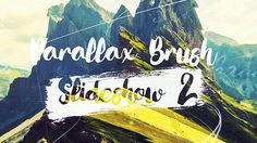 Parallax Brush 2 (Abstract) #Envato #Videohive #aftereffects