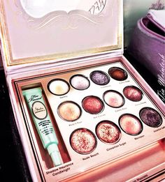 TooFaced eye shadow palette.