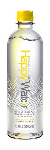Love this! Canada-based Happy Water has launched Neurogenesis Happy Water.