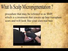 Looks Like Hair What Is Scalp  Micropigmentation?  Hair Transplant Scars?  Scar Camouglage   http://lookslikehair.com/