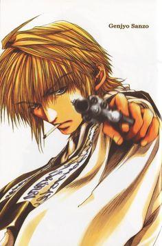 Sanzo of Saiyuki