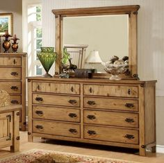 Furniture Of America Pioneer Dresser