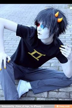 Sollux cosplayer