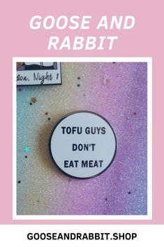 Click through for more vegan pins. Perfect Mother's Day Gift, Etsy Business, Soy Candles, Small Gifts, Tofu, Stocking Stuffers, Best Gifts, Etsy Seller, Enamel