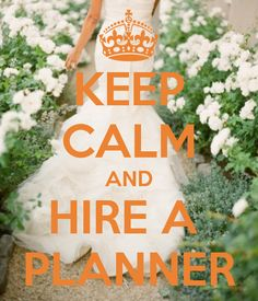 "– Keep calm and hire a planner. Here are FIVE solid  reasons why hiring a planner is a good decision! ""Silverlingevents and Co. Dallas Tx!"