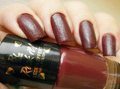 Nail of the Day - Red Zeppelin http://theearlybeautycatchestheblush.blogspot.de/2014/10/Rock-it-LE-red-zeppelin.html #RivaldeLoopYoung #RockItLE