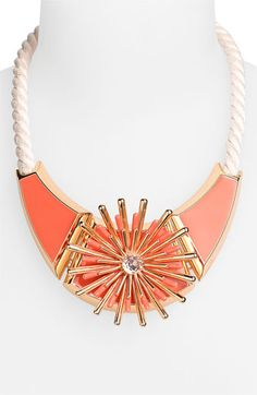 Vince Camuto 'Pop-Up Bloom' Bib Necklace available at Nordstrom