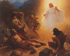 Book of Mormon. Alma the Younger and the sons of Mesiah are called to repentance by an angel.