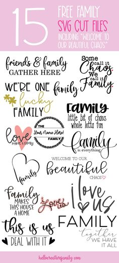 Make A Family, Gifts For Family, Family Crafts, Family Signs, Family Quotes, Cricut Tutorials, Cricut Ideas, Family Is Everything, Silhouette Cameo