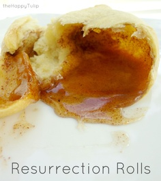 The Best Easter Dessert: Resurrection Rolls - These can be made with kids while talking about the Resurrection.  The link tells you how...