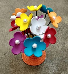 Today we are going to learn How to make Foam Flowers. Homemade Foam Flowers are excellent for party or home decorations. This foam craft is so simple that you can involve kids in making flowers Foam Sheet Crafts, Foam Crafts, Easy Diy Crafts, Handmade Crafts, Crafts With Foam Sheets, Creative Crafts, Diy Gifts For Kids, Diy For Kids, Crafts For Kids