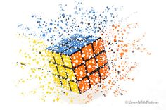 rubik's cube dispersion 40/52 | Flickr - Photo Sharing!