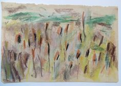 Midden Delfland, op het dijklichaam A4 Gouache, Painting, Painting Art, Paintings, Painted Canvas, Drawings