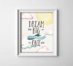 Art Print  Buy One Get One Free  Dream big little by ThePrintAnnex