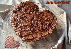 Mississipi Mud Brownies (avec une french touch)