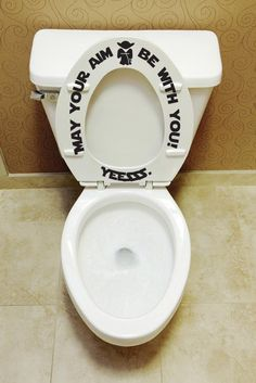 bathroom Decoration Toilet - Put the seat down Yesssss toilet seat decals Bathroom Kids Décor Toilet training Decal Funny Tub decorations training potty. Disney Bathroom, Kid Bathroom Decor, Downstairs Bathroom, Bathroom Storage, Kid Bathrooms, Bathroom Stuff, Nursery Decor, Toilet Training, Potty Training