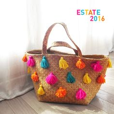 Lace Bag, Diy Clutch, How To Make A Pom Pom, Boho Bags, Vintage Sewing Patterns, Handmade Bags, Autumn Winter Fashion, Cowboy Hats, Straw Bag