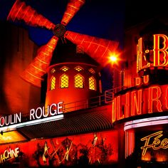 Moulin Rouge (Red Mill)