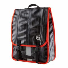 """Show off your urban savvy with this petite recycled rubber commuter backpack from Alchemy Goods that fits up to a 13"""" laptop as well as other items."""