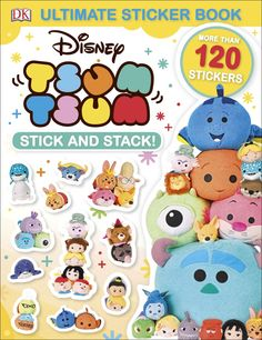 Ultimate Sticker Book: Disney Tsum Tsum Stick and Stack! - look inside 1