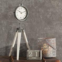 #zegar #clock #watch #decoration #dekoracje  #home #interior #design #ideas Zegar 49 Bond Street 72cm, 72cm - Dekoria