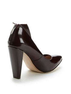 Myka Leather Pump by French Connection at Gilt