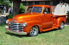 Cool old Chevy Truck...