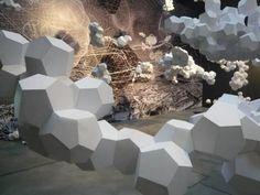Tomas Saraceno paper art