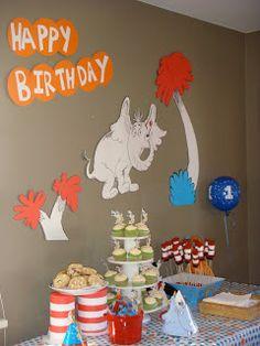 Crafts: Dr. Seuss Party