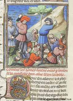 Bible Historiale, MS M.394 fol. 111v - Images from Medieval and Renaissance Manuscripts - The Morgan Library & Museum