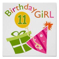 Shop Birthday - Birthday Girl Cake Topper created by birthdayzoo. Happy Birthday Kind, 12th Birthday Girls, Happy Birthday Posters, 10th Birthday Parties, Birthday Wishes, Birthday Cards, Birthday Ideas, Birthday Messages, 70th Birthday
