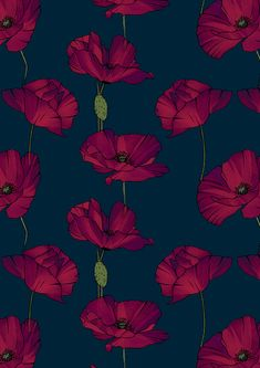 Antique Vtg 40/'s Cottage Floral Garden Trellis Fabric ~ Pink Yellow Black