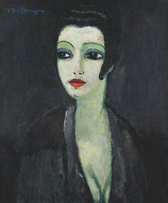 Kees van Dongen: Tamara; the painter's muse (1913)
