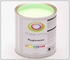Glow In The Dark - Phosphorescent - Paint