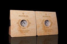 PACKLAB - Peltolan Blue Cheese Packaging Design by PACKLAB , via Behance