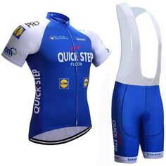 Quick Step Short Sleeve Cycling Jersey Set 862f2b1d1