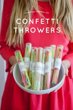 Handmade Confetti and DIY Confetti Throwers