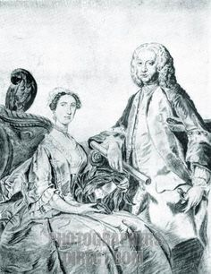 Handel and La Francescina ( Elisabeth Duparc or Lisetta du Parc ) appeared