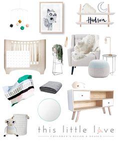 Neutral nursery boys nursery modern nursery scandi nursery this little love…