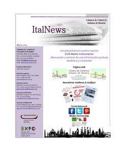 Italnews- CCIR Media Instruments- Cámara de Comercio Italiana de Rosario, Marzo 2015