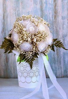 Solountip.com: Haz un ramo de boda reciclando cajas de huevo