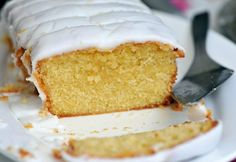 Vegan Lemon Drizzle Cake  Variations: Spelt / plain wholemeal flour + baking powder (self-raising flour)