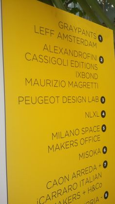 wall of Spazio 31