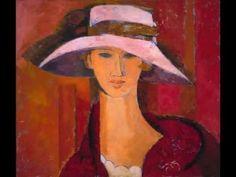 """""""Mujer con sombrero a ritmo de tango"""""""